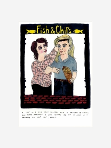 Fish and Chips by Kristi Moore